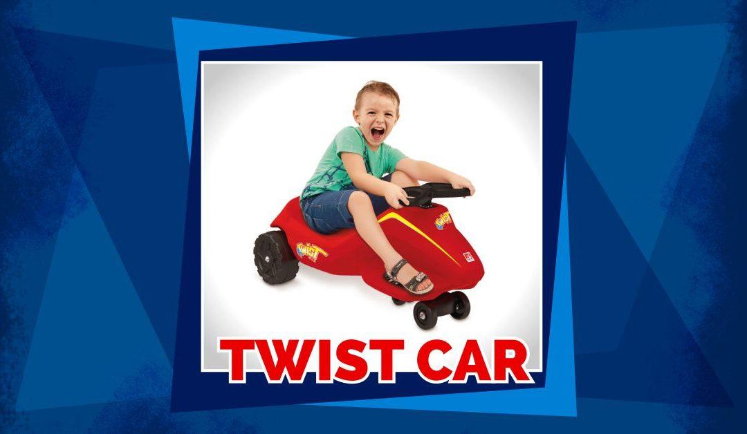 Twist car, divertido para pilotar