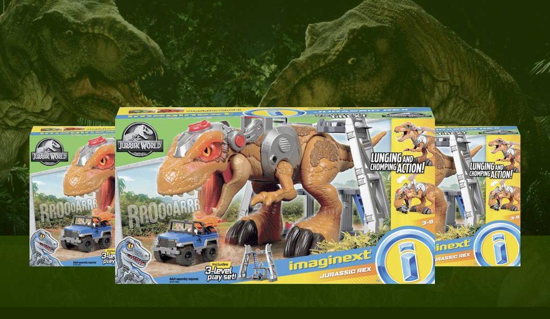Imaginext Jurassic World Tiranossauro Rex